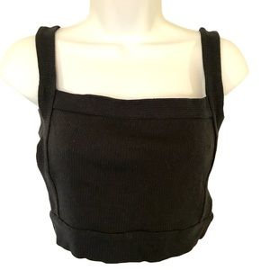 Urban Outfitters straps open back crop top